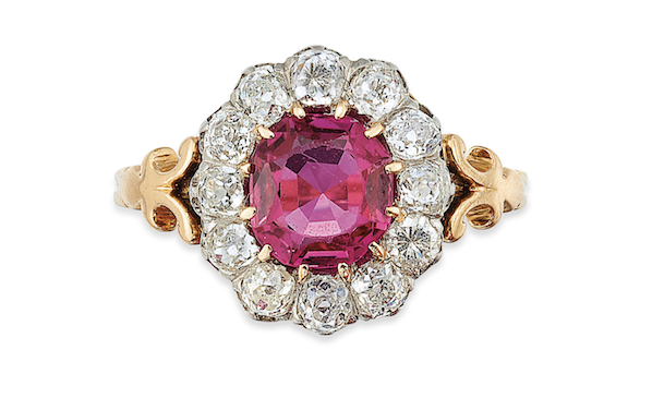Victorian Ruby and Diamond Ring - Christie's